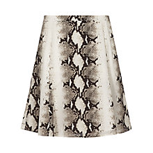 Buy Reiss Chari Snake Print Skirt, Madeleinesnake Online at johnlewis.com