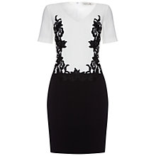 Buy Damsel in a dress Madeley Dress, Black/White Online at johnlewis.com