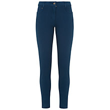 Buy NW3 by Hobbs Mia Skinny Jeans, Peacock Blue Online at johnlewis.com