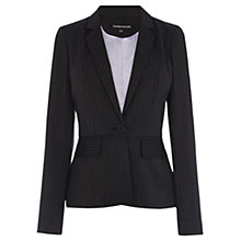 Buy Warehouse Multi Pinstripe Jacket, Grey Online at johnlewis.com