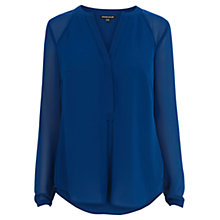 Buy Warehouse Sheer Sleeve Tunic Top Online at johnlewis.com