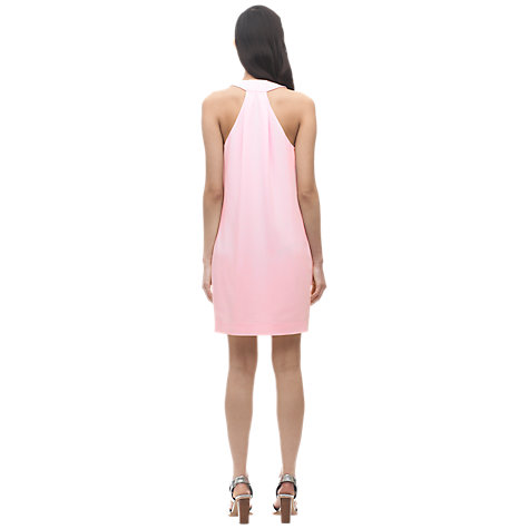 Buy Whistles Twist Back Dress, Pale Pink Online at johnlewis.com