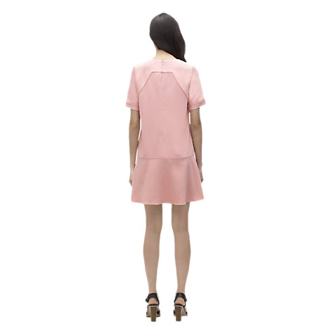 Buy Whistles Simone Swing Shift Dress, Pink Online at johnlewis.com