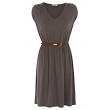 Buy Oasis V-neck Sundress, Khaki Online at johnlewis.com