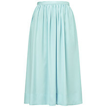 Buy Whistles Daisy Skirt, Pale Blue Online at johnlewis.com