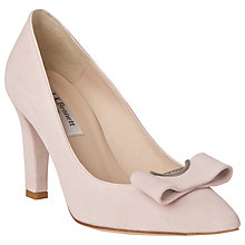 Buy L.K. Bennett Kareena Leather Court Shoes, Ballerina Online at johnlewis.com