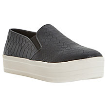 Buy Steve Madden Bubah Trainers, Black Online at johnlewis.com