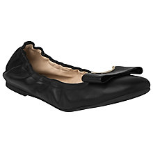 Buy L.K. Bennett Flat Ballerina Leather Pumps Online at johnlewis.com