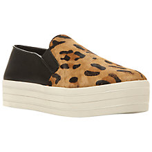 Buy Steve Madden Bubah Trainers, Leopard Online at johnlewis.com