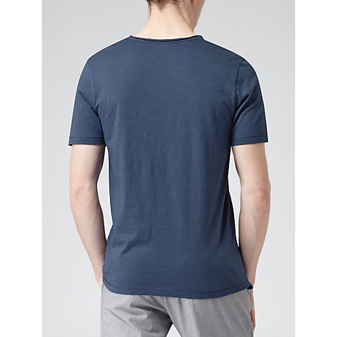 Buy Reiss Majestic Cotton V-Neck T-Shirt Online at johnlewis.com