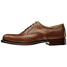 Buy Church's Burwood Leather Brogues, Sandalwood Online at johnlewis.com
