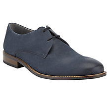 Buy Kin by John Lewis George Suede Derby Shoes, Navy Online at johnlewis.com