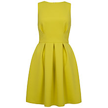 Buy Closet Waffle Pleat Full Dress, Lime Online at johnlewis.com