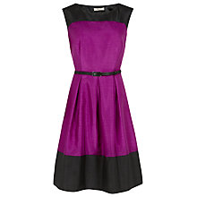 Buy Precis Petite Colour Block Dress, Multi Dark Online at johnlewis.com