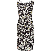 Buy Havren Daisy Field Print Dress, Charcoal Combo Online at johnlewis.com