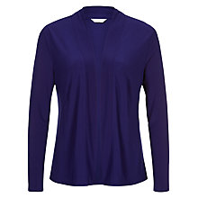 Buy Kaliko Waterfall Cardigan, Cobalt Online at johnlewis.com