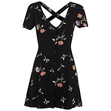 Buy Miss Selfridge 90s Spring Playsuit, Multi Online at johnlewis.com