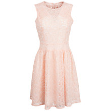 Buy Whistle & Wolf Chorded Lace Dress, Pink Online at johnlewis.com