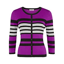 Buy Precis Petite Colour Block Cardigan, Multi Dark Online at johnlewis.com