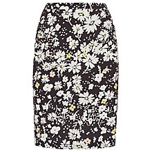Buy Havren Combo Daisy Field Print Skirt, Charcoal Combo Online at johnlewis.com