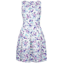 Buy Closet Floral Contrast Cut Out Dress, Multi Online at johnlewis.com