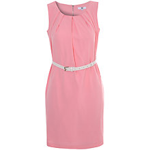 Buy True Decadence Sleeveless Belted Dress, Light Pink Online at johnlewis.com