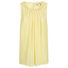 Buy Havren Scatter Beaded Top, Lemon Online at johnlewis.com