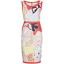 Buy Havren Matisse Print Contrast Dress, Clementine Combo Online at johnlewis.com
