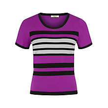 Buy Precis Petite Colour Block Top, Multi Dark Online at johnlewis.com
