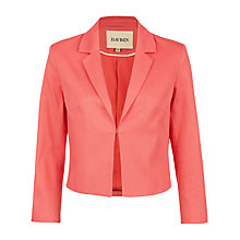 Buy Havren Small Revere Box Jacket, Clementine Online at johnlewis.com