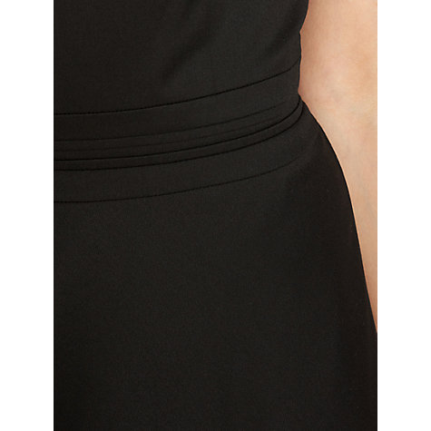 Buy Warehouse Split Waistband Workwear Dress, Black Online at johnlewis.com