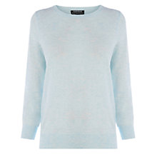 Buy Warehouse Marl Crew Neck Jumper, Light Blue Online at johnlewis.com