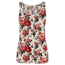Buy Oasis Utility Rose Vest, Multi Online at johnlewis.com