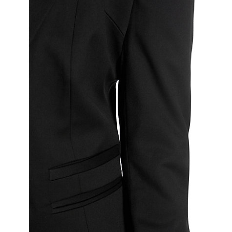 Buy Warehouse Split Waistband Workwear Jacket, Black Online at johnlewis.com