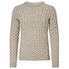 Buy JOHN LEWIS & Co. Made In England Merino Cable Knit Jumper Online at johnlewis.com
