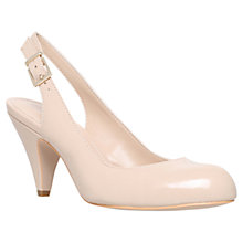 Buy Carvela Kay Leather Sling Back Court Shoes Online at johnlewis.com