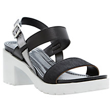 Buy Dune Fibie Sporty Block Heel Sandals Online at johnlewis.com