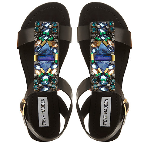 Buy Steve Madden Wiktor Gem Sandals Online at johnlewis.com