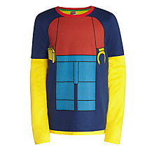 Buy LEGO Man Top, Navy/Multi Online at johnlewis.com