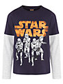 Star Wars T-Shirt, Blue/Grey
