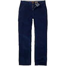 Buy Crew Clothing Boys' Jay Corduroy Trousers, Navy Online at johnlewis.com