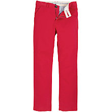 Buy Crew Clothing Boys' Harrison Chino Trousers Online at johnlewis.com