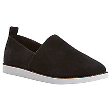 Buy Steve Madden Acction Suede Shoes, Black Online at johnlewis.com
