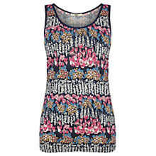 Buy Oasis Utility Floral Vest, Multi Online at johnlewis.com