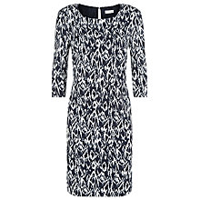 Buy Windsmoor Antwerp Tunic Dress, Navy/Ivory Online at johnlewis.com