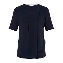 Buy Windsmoor Chiffon Drape Jersey Top Online at johnlewis.com