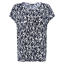 Buy Windsmoor Antwerp Jersey Top, Navy Online at johnlewis.com