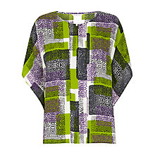Buy Windsmoor Formosa Print Tunic Top, Green/Multi Online at johnlewis.com