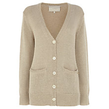 Buy Wishbone Alana Lurex Cardi, Gold Online at johnlewis.com