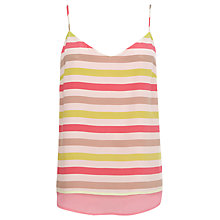Buy Wishbone Charlie Stripe Cami Top, Multi Online at johnlewis.com